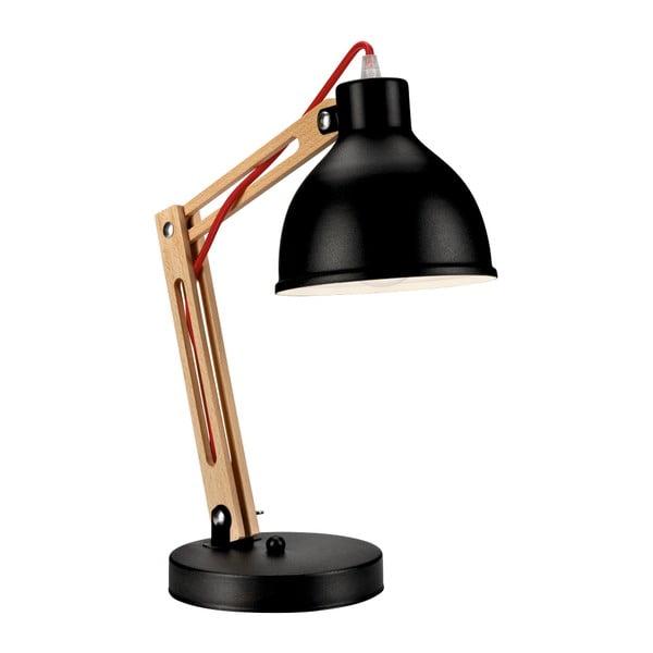 Čierna stolová lampa Lamkur Marcello