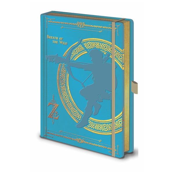 Notes A5 Pyramid International The Legend of Zelda BOTW, 120 stron