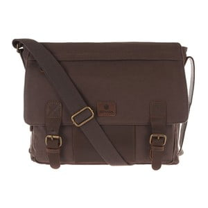 Pánská kožená taška Hoxton Woodland Brown