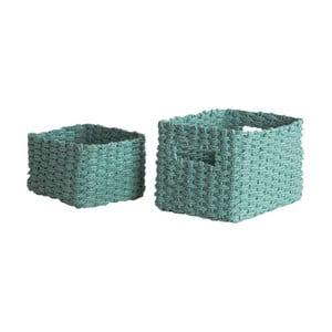 set 2 coşuri depozitare Compactor Basket Claudie, albastru