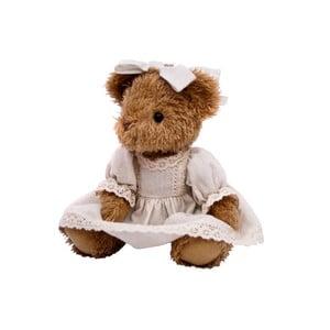 Medvídek White Teddy Girl