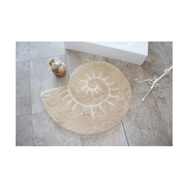 Koupelnová předložka Helix Rock, ⌀ 90 cm