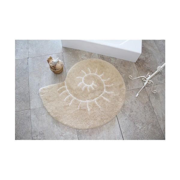 Covor Confetti Bathmats Helix, Ø 90 cm, bej