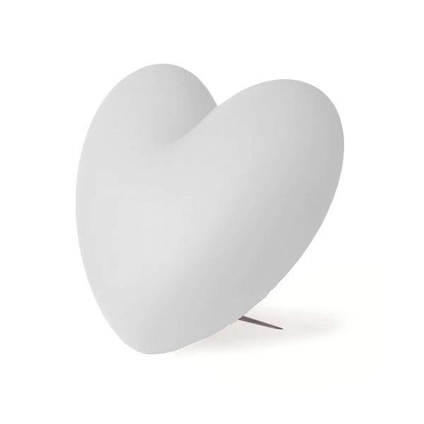 Stolní lampa Love, bílá