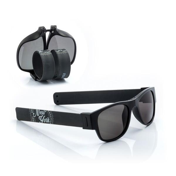 Černé sluneční srolovatelné brýle InnovaGoods Sunfold ST1
