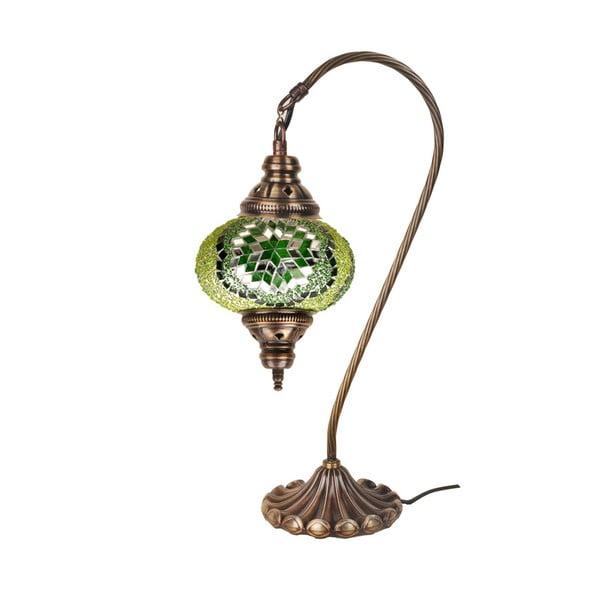 Skleněná lampa Homemania Fishing, ⌀17cm
