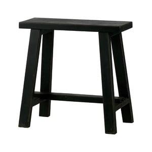 Černá dřevěná stolička WOOOD Mara
