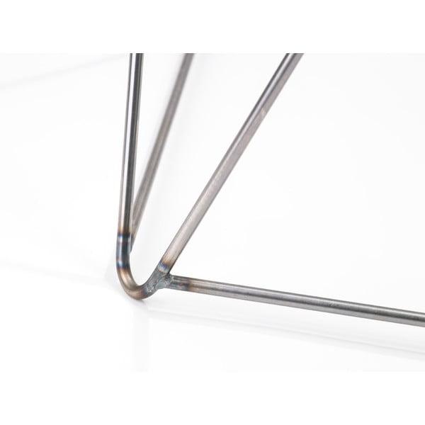 Šedá podnož ke stolu Master & Master Diamond Narrow, 70x55cm