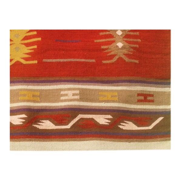 Vlněný koberec Kilim 129, 120x180 cm