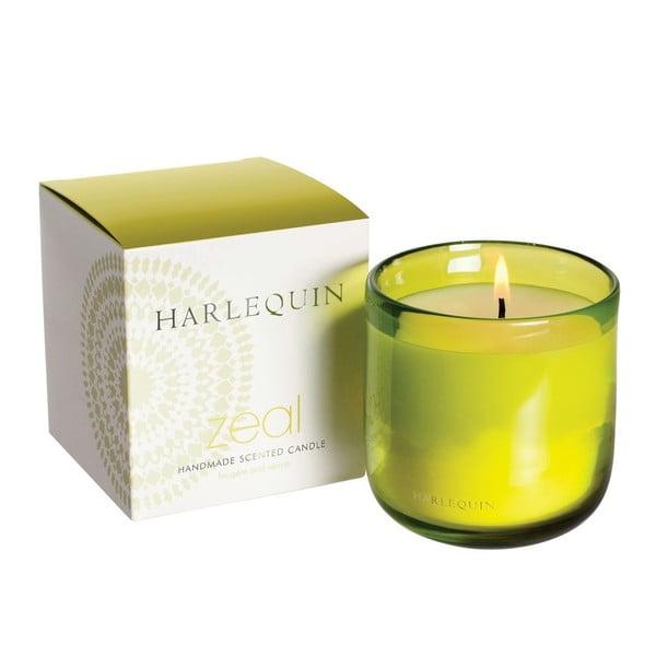 Svíčka Harlequin, vanilka s mechem a jantarem