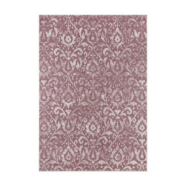 Fialovo-béžový venkovní koberec Bougari Hatta, 200 x 290 cm