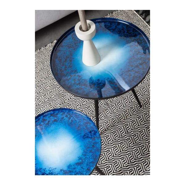 Set 2 măsuțe Zuiver Flow, albastru
