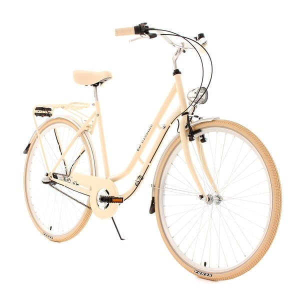 "Kolo City Bike Casino Beige, 28"", 3 převody"