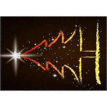 Covor Vitaus Christmas Period Tree With Shining Star, 50 x 80 cm de la Vitaus
