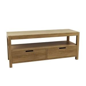 Televizní stolek z dubového dřeva Fornestas Sims