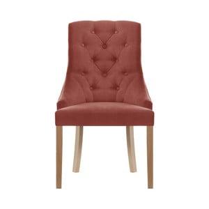 Broskvově oranžová židle Jalouse Maison Chiara