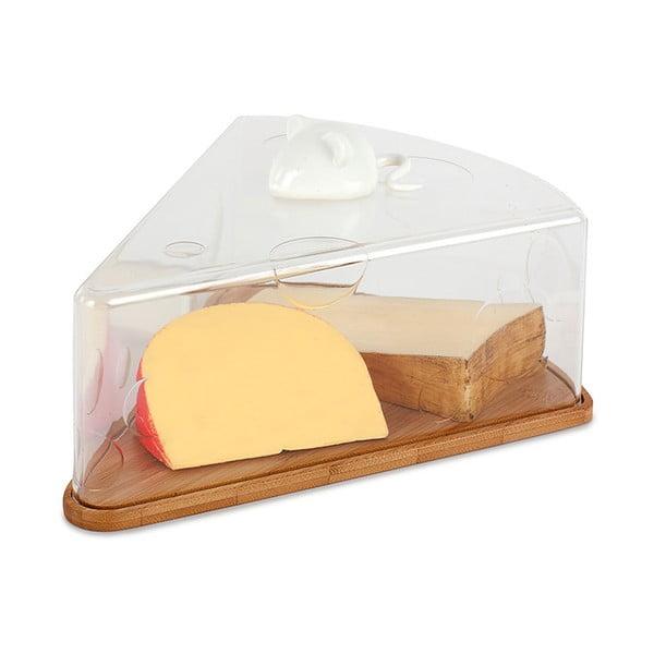 Prkénko s poklopem na sýr Love Cheese