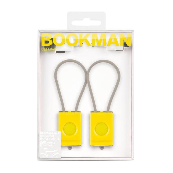 Žlutá USB blikačka Bookman