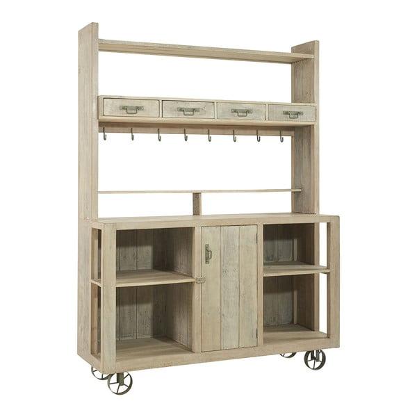 Kuchyňská skříňka na kolečkách Mahe