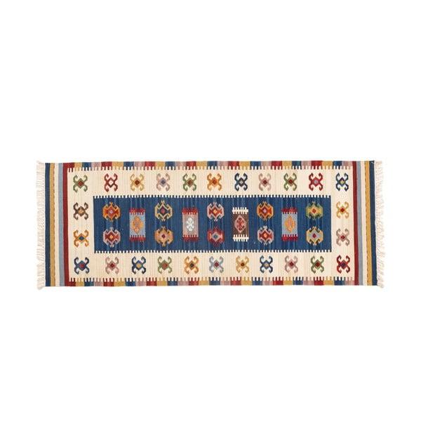 Ručně tkaný koberec Kilim Dalush 605, 250x80 cm