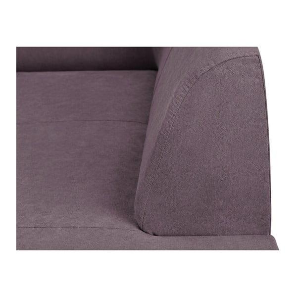 Canapea 3 locuri Kooko Home Piano, mov