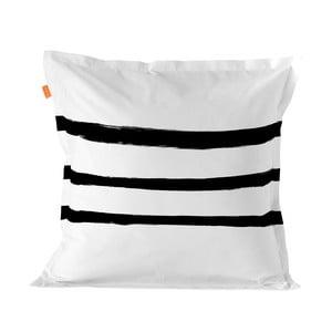 Bavlněný povlak na polštář Blanc Stripes, 60 x 60 cm