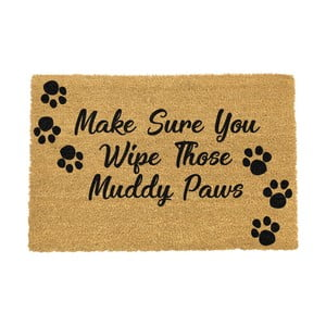 Rohožka Artsy Doormats Wipe Your Paws, 90 x 60 cm