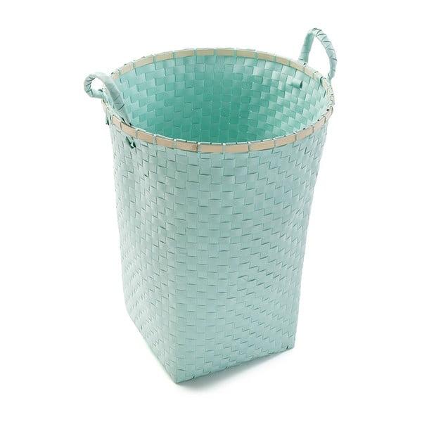 Tyrkysový koš na prádlo Versa Laundry Basket