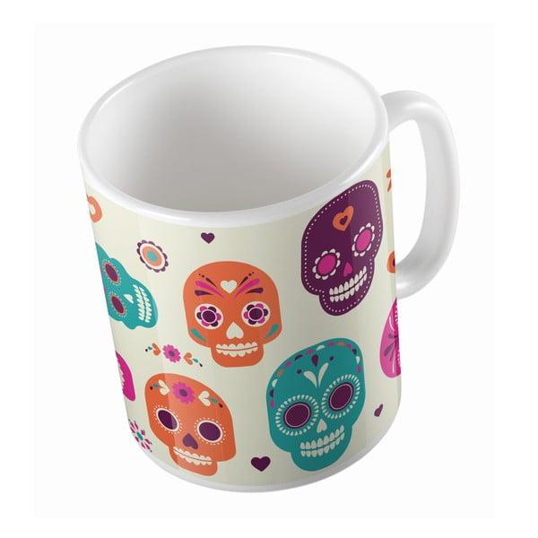 Keramický hrnek Sugar Skull, 330 ml