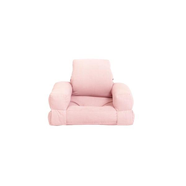 Mini Hippo Pink Peonie kinyitható gyerekfotel - Karup Design