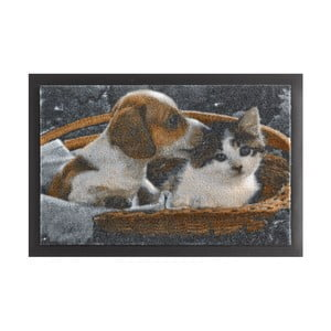 Rohožka Hanse Home Animals Dog and Cat, 40 x 60 cm