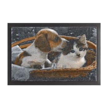 Covor Hanse Home Animals Dog and Cat, 40 x 60 cm imagine