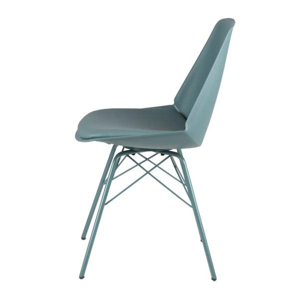 Sada 4 zelených židlí sømcasa Tania