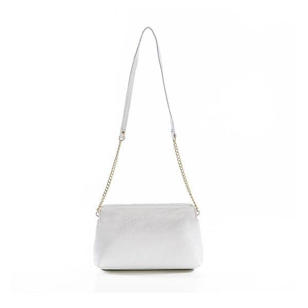 Kožená kabelka Envelope White