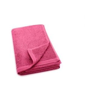 Fuchsiový ručník Jalouse Maison Serviette Fuchsia, 50 x 100 cm