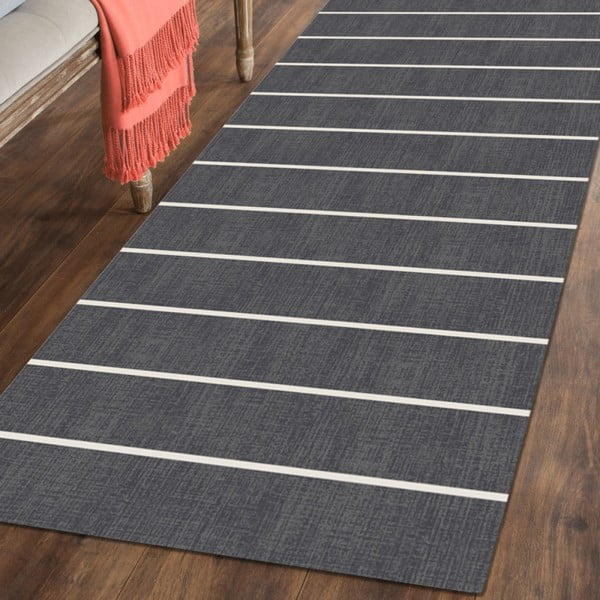 Covor Floorita Oslo Dark Grey, 60 x 240 cm