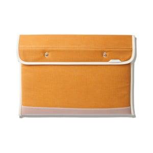 Psaníčko/obal/podstavec na notebook Clutch 110, mustard
