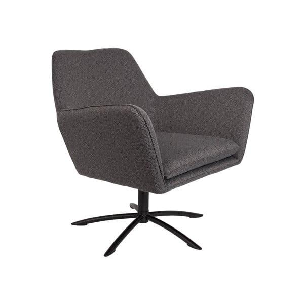 Knut sötétszürke fotel - White Label