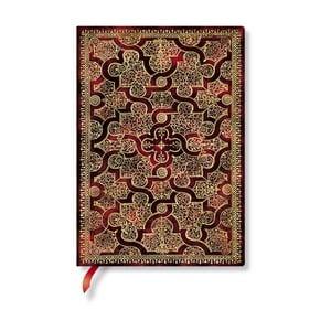 Caiet cu copertă moale Paperblanks Mystique, 13 x 18 cm