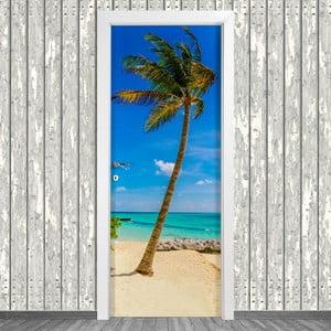Samolepka na dveře LineArtistica Palma, 80 x 215 cm