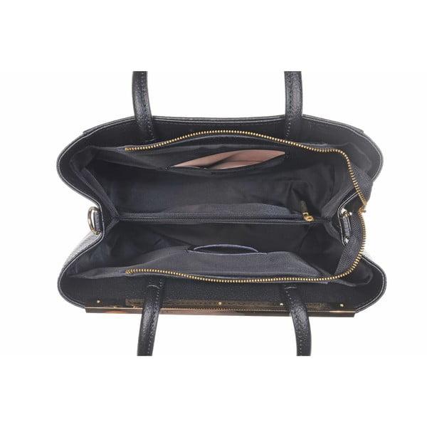 Kožená kabelka Como Black
