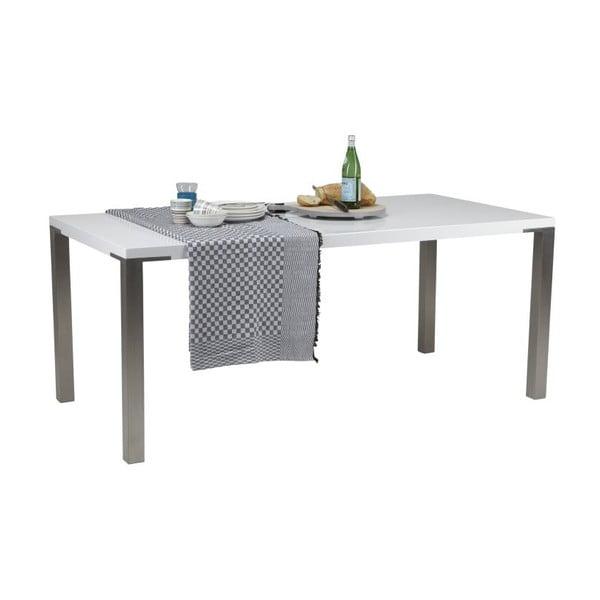 Jídelní stůl Palau White,90x180 cm