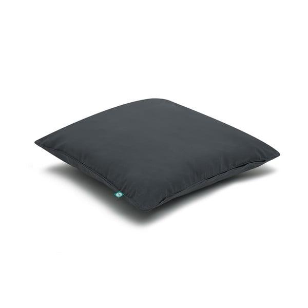 Černý povlak na polštář Mumla Basic, 70 x 80 cm