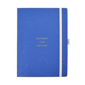 Modrý zápisník na úspory Busy B, 56stran