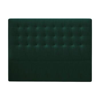 Tăblie pat cu înveliș de catifea Windsor & Co Sofas Athena, 180x120cm, verde de la Windsor & Co Sofas