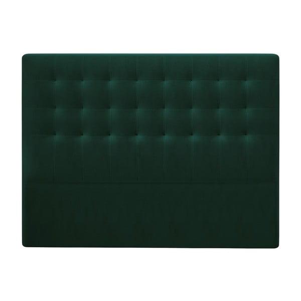 Athena palackzöld ágytámla bársonyhuzattal, 180 x 120 cm - Windsor & Co Sofas
