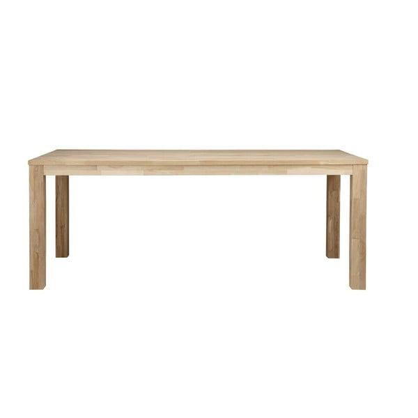 Dřevěný jídelní stůl Largo Untreated,90x230 cm