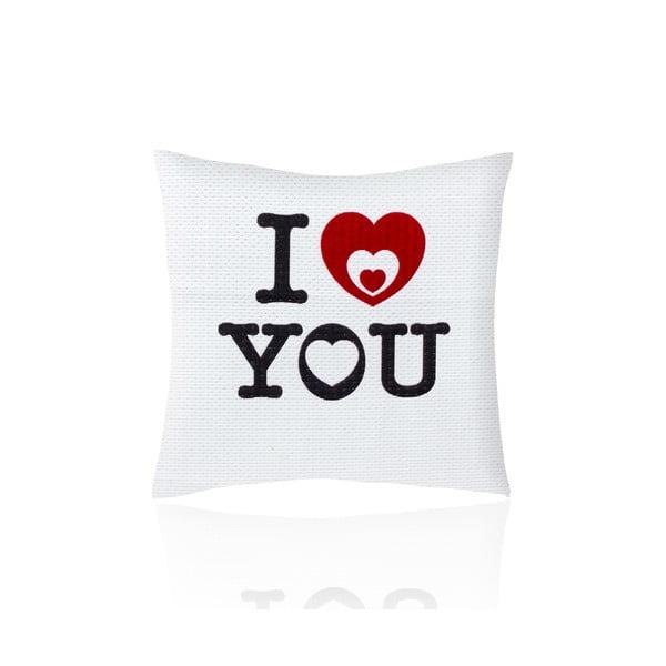 Povlak na polštář I Love You, 50x50 cm