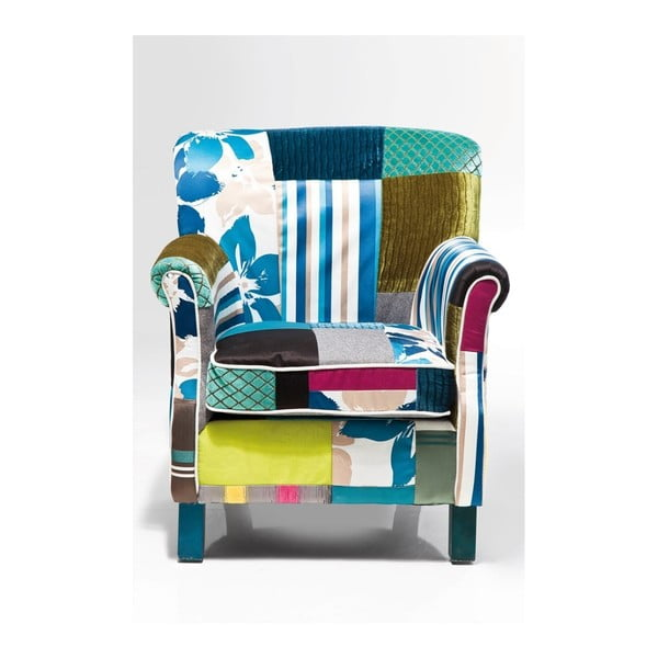 Křeslo Kare Design Patchwork Stripes