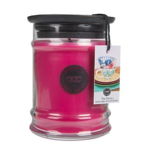 Malá svíčka ve skleněné dóze s vůní broskví a meruňky Creative Tops Sweet Tea Party, doba hoření 65-85hodin